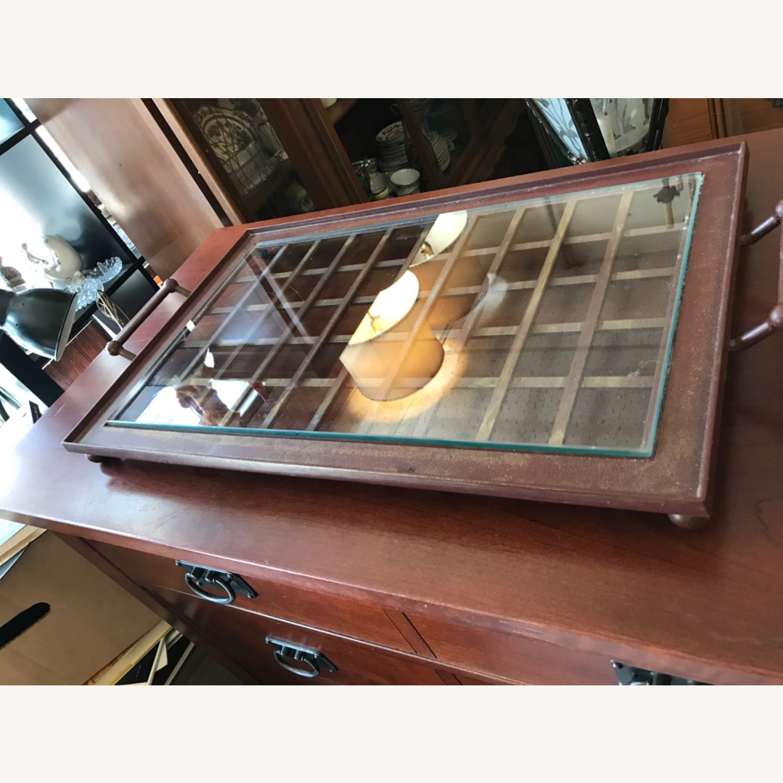 Vintage Mid Century Side Table / Tray - image-14
