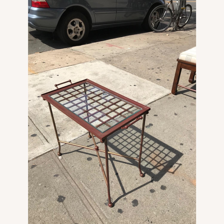 Vintage Mid Century Side Table / Tray - image-12