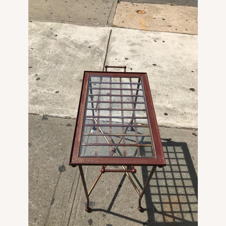 Vintage Mid Century Side Table / Tray - image-10