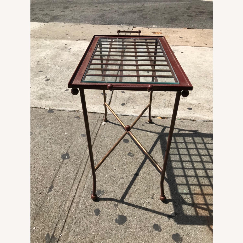 Vintage Mid Century Side Table / Tray - image-11