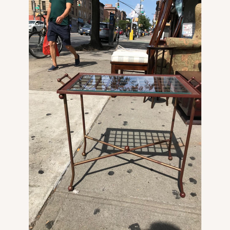Vintage Mid Century Side Table / Tray - image-2