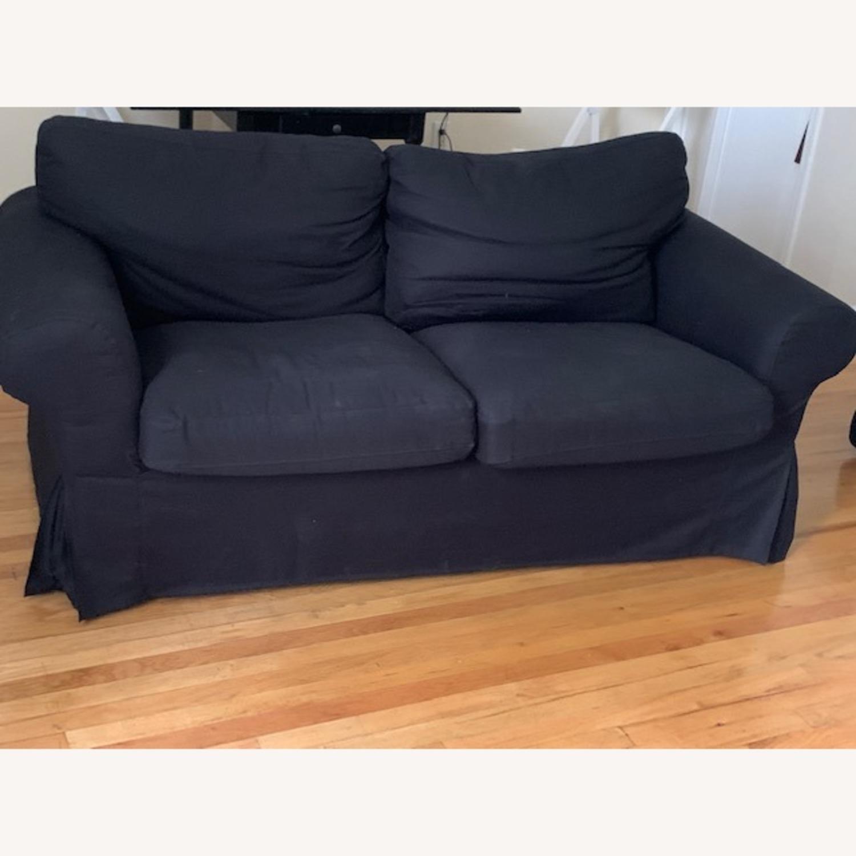 IKEA Black Sofa - image-3