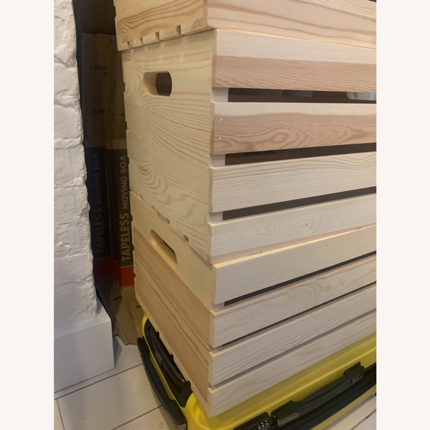 Wood Storage Crates (3) - image-1