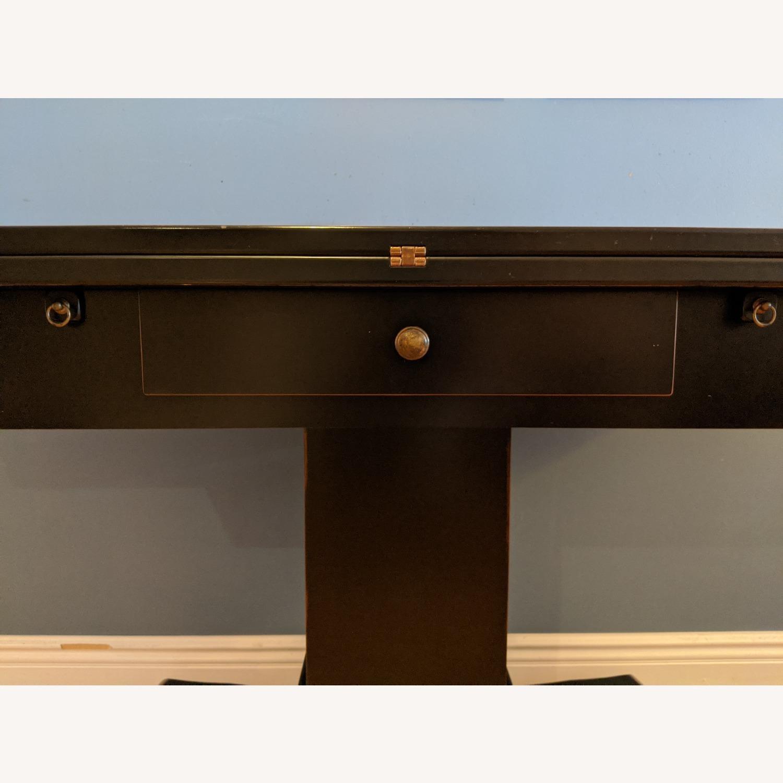 Ebonized Convertible Dining Console Table - image-3