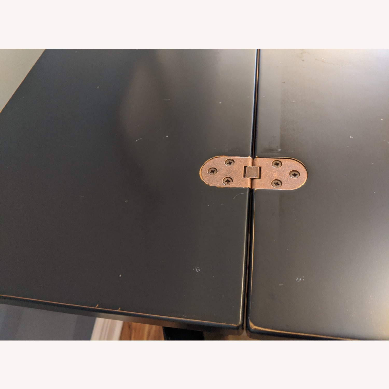 Ebonized Convertible Dining Console Table - image-7