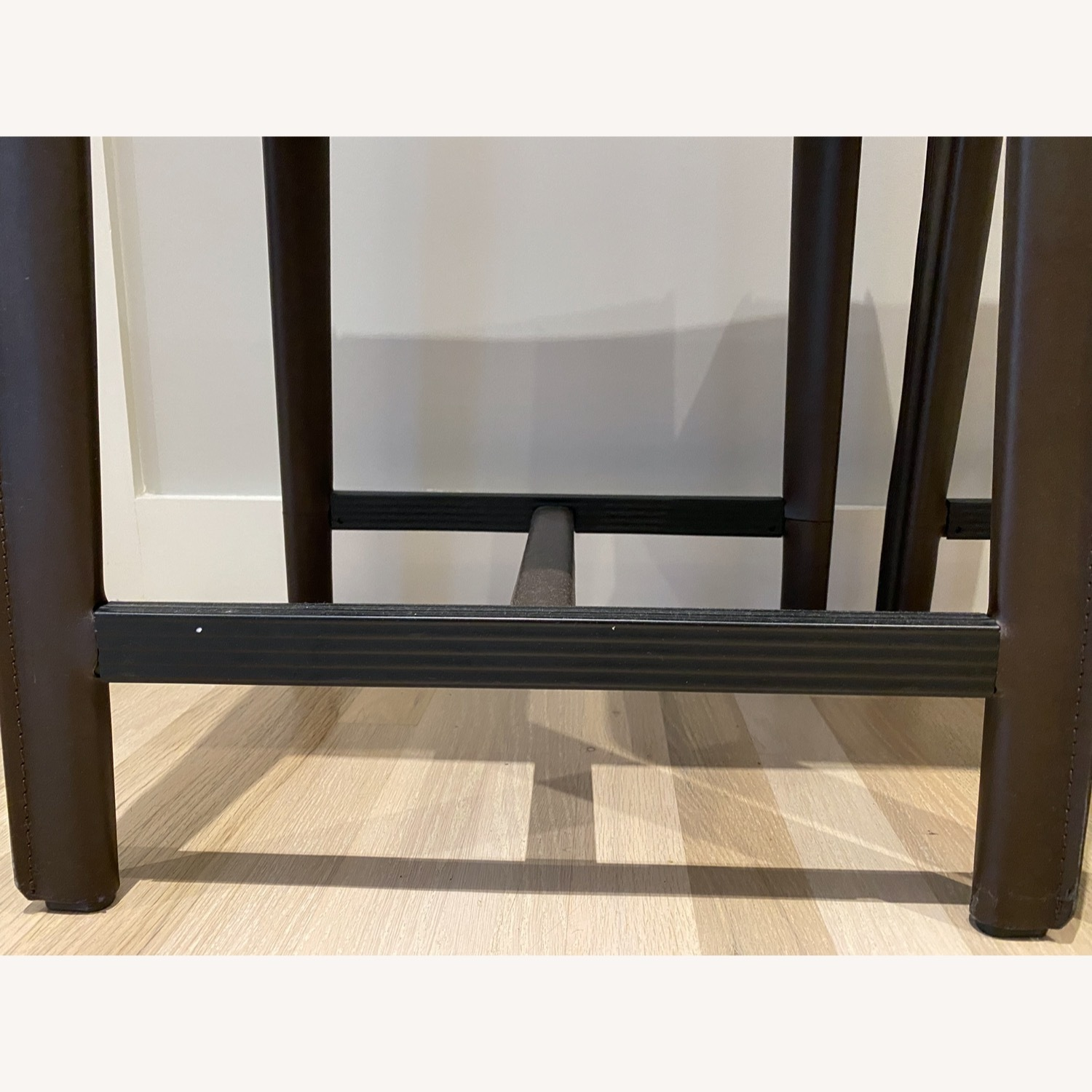Set of Crate & Barrel Backless Counter Stools - image-6