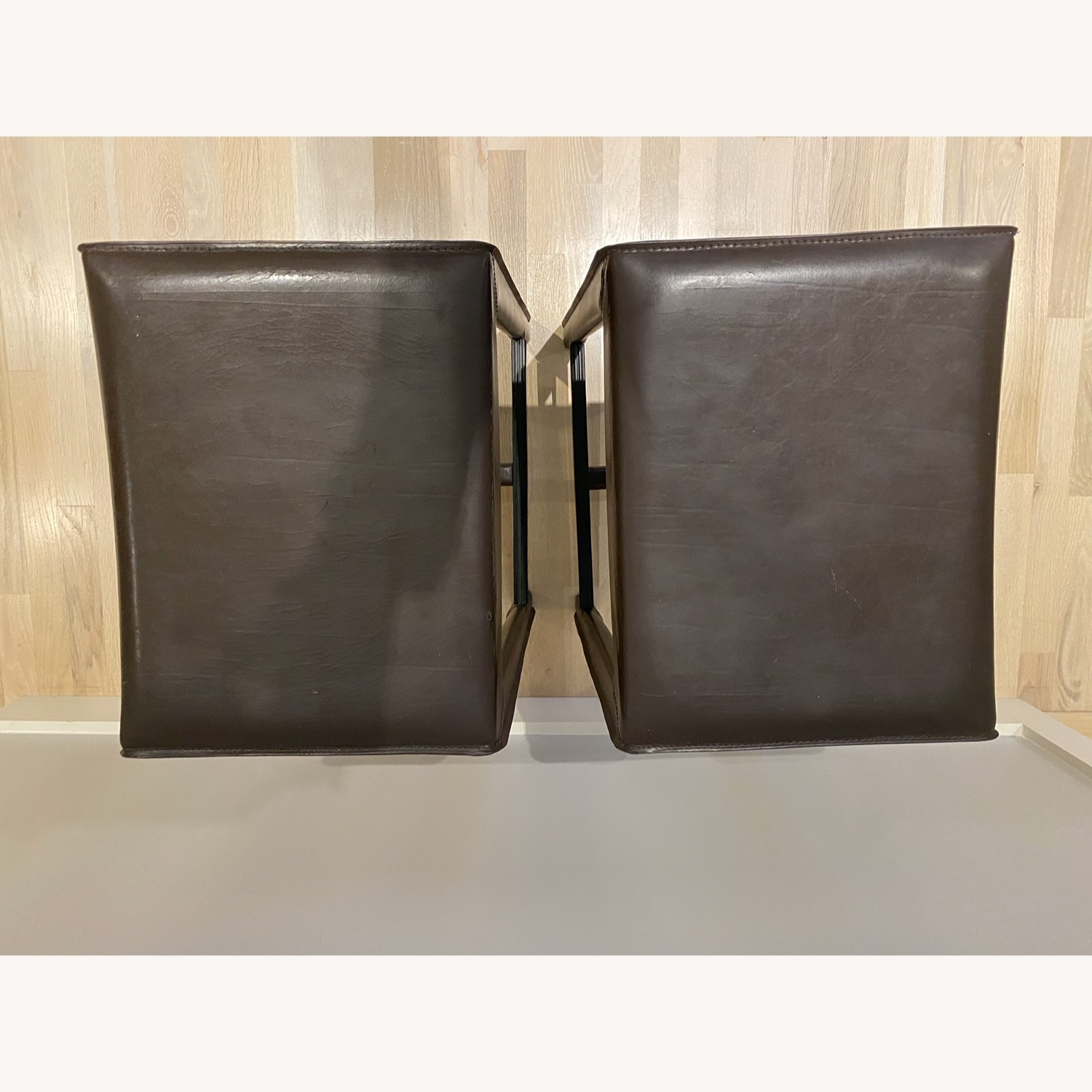 Set of Crate & Barrel Backless Counter Stools - image-3