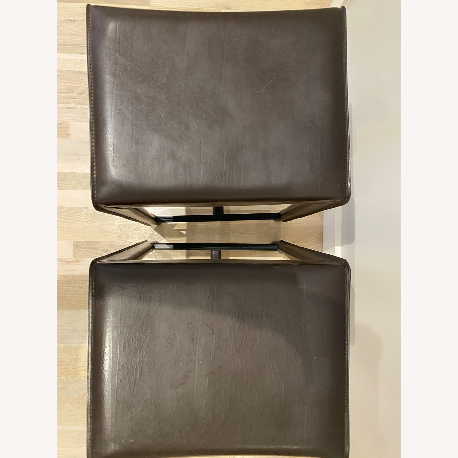 Set of Crate & Barrel Backless Counter Stools - image-4