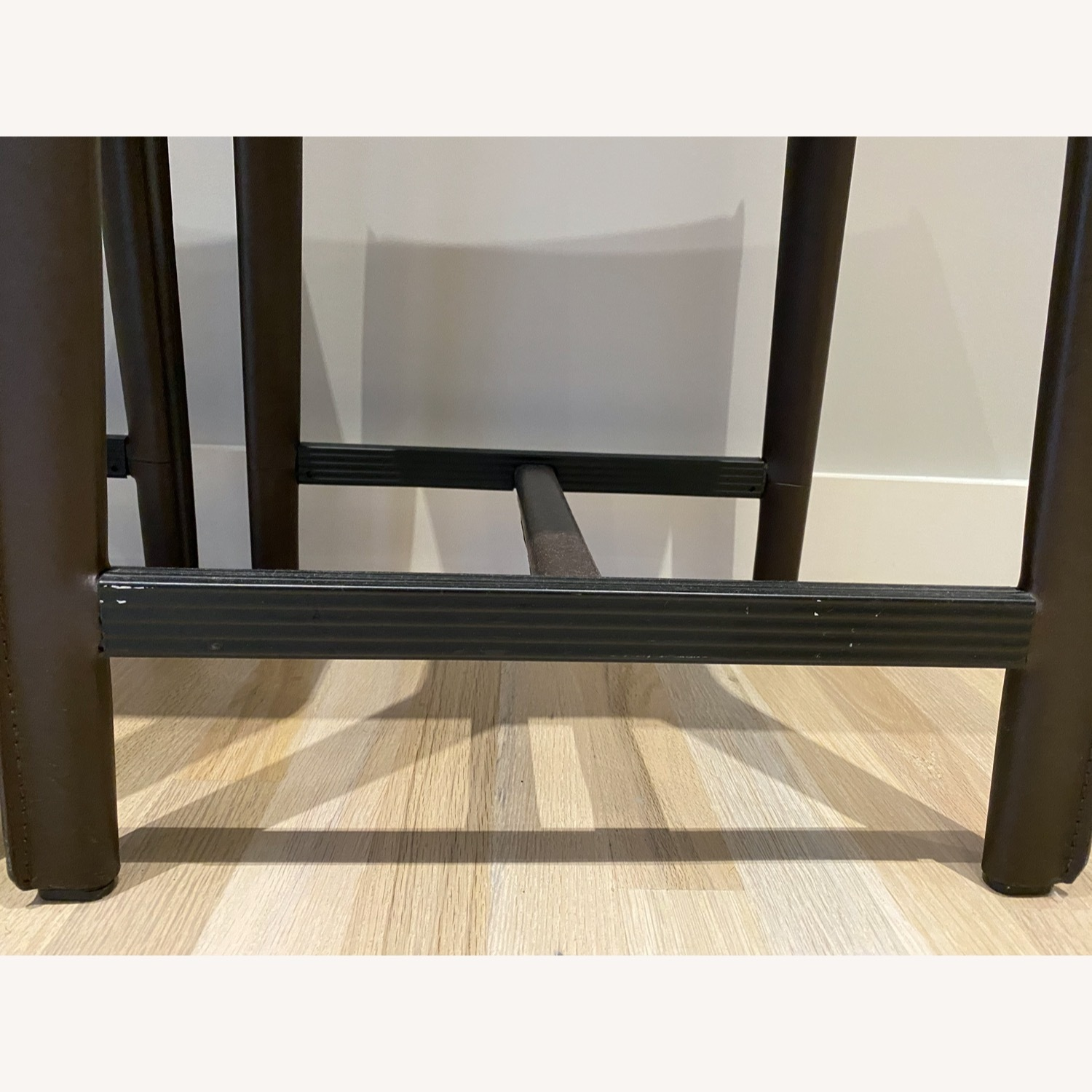 Set of Crate & Barrel Backless Counter Stools - image-5