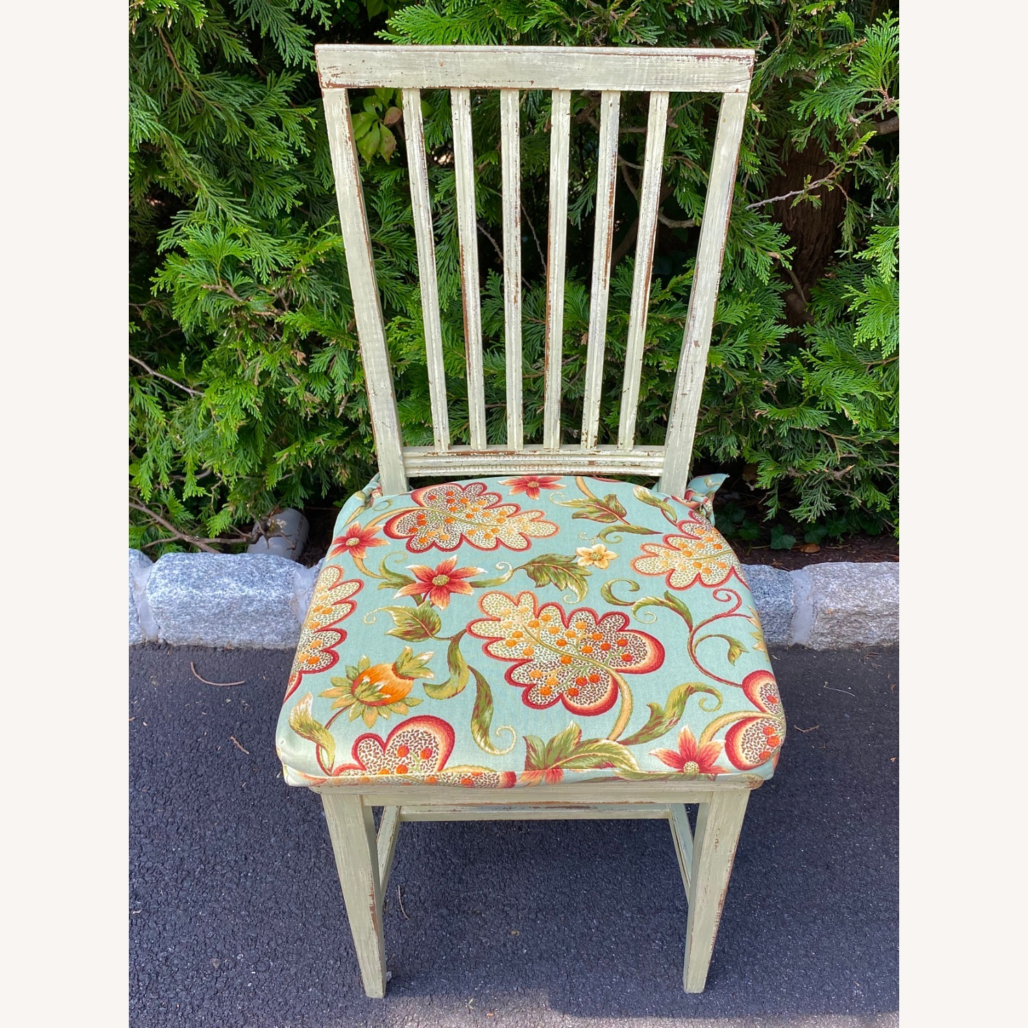 Patterned Dining Chair Pads - image-1