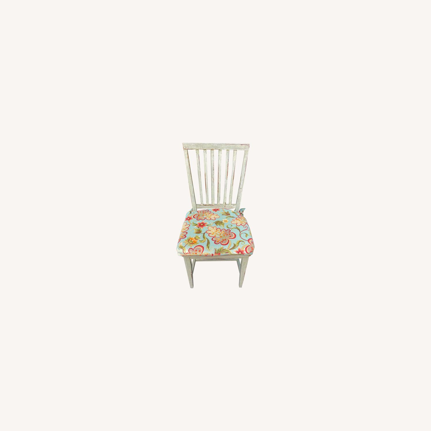 Patterned Dining Chair Pads - image-0