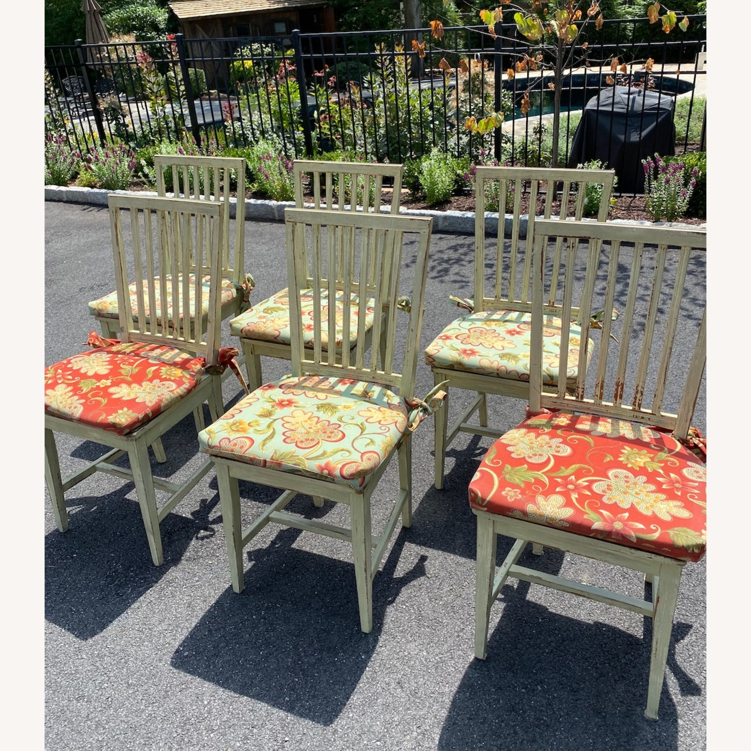 Patterned Dining Chair Pads - image-3