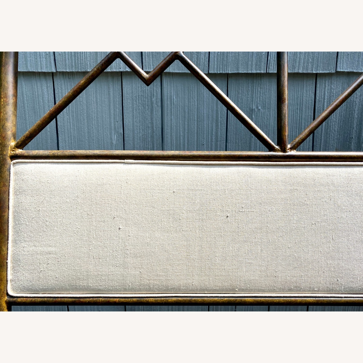 King Sized Canopy Iron Bed Frame - image-5