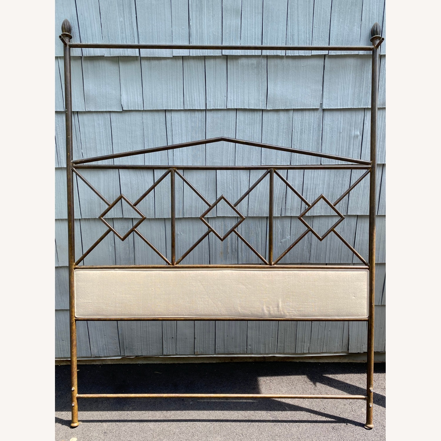 King Sized Canopy Iron Bed Frame - image-3