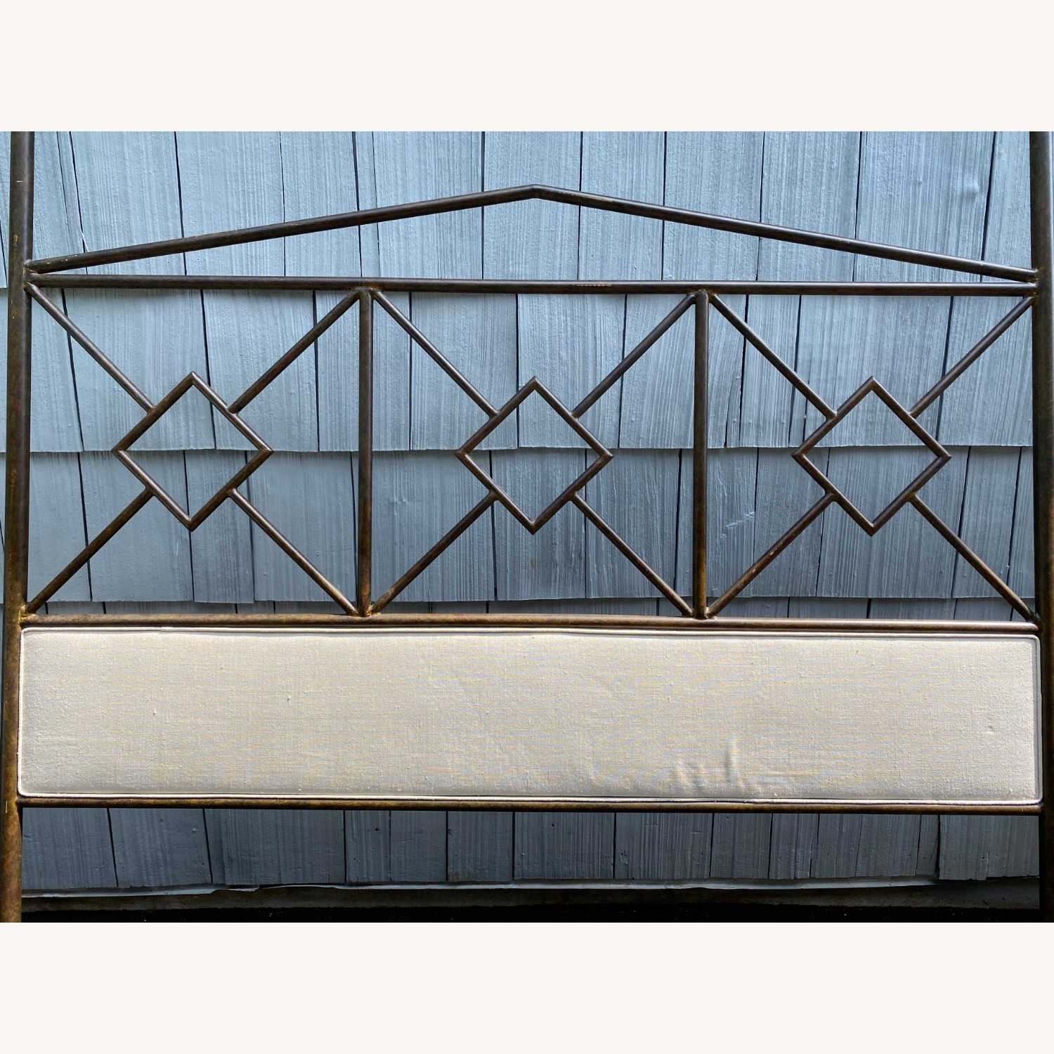 King Sized Canopy Iron Bed Frame - image-7