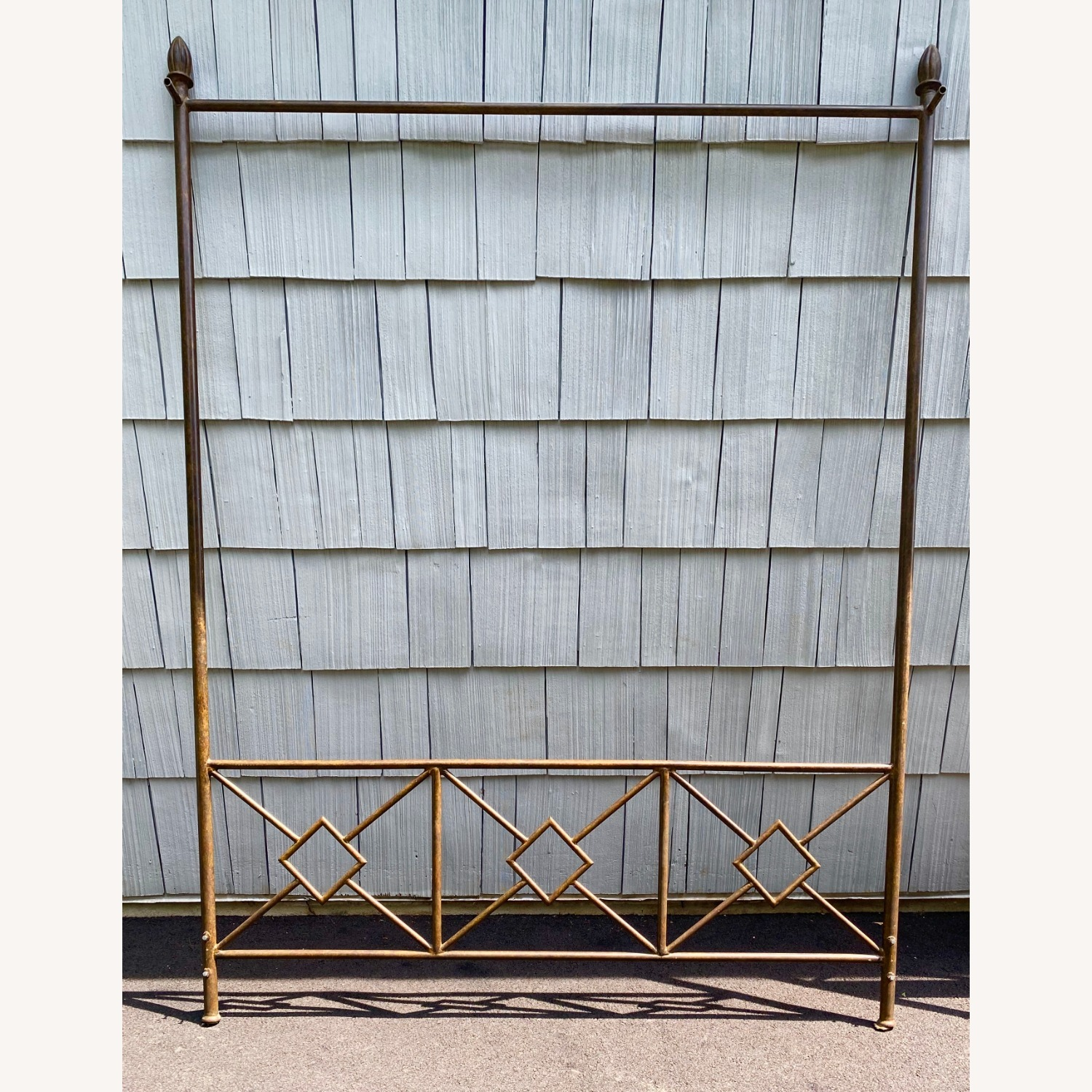King Sized Canopy Iron Bed Frame - image-4