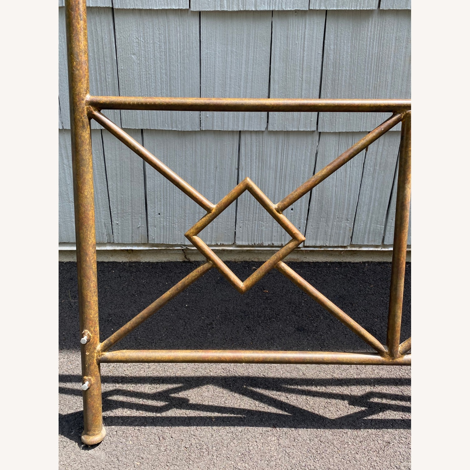 King Sized Canopy Iron Bed Frame - image-6