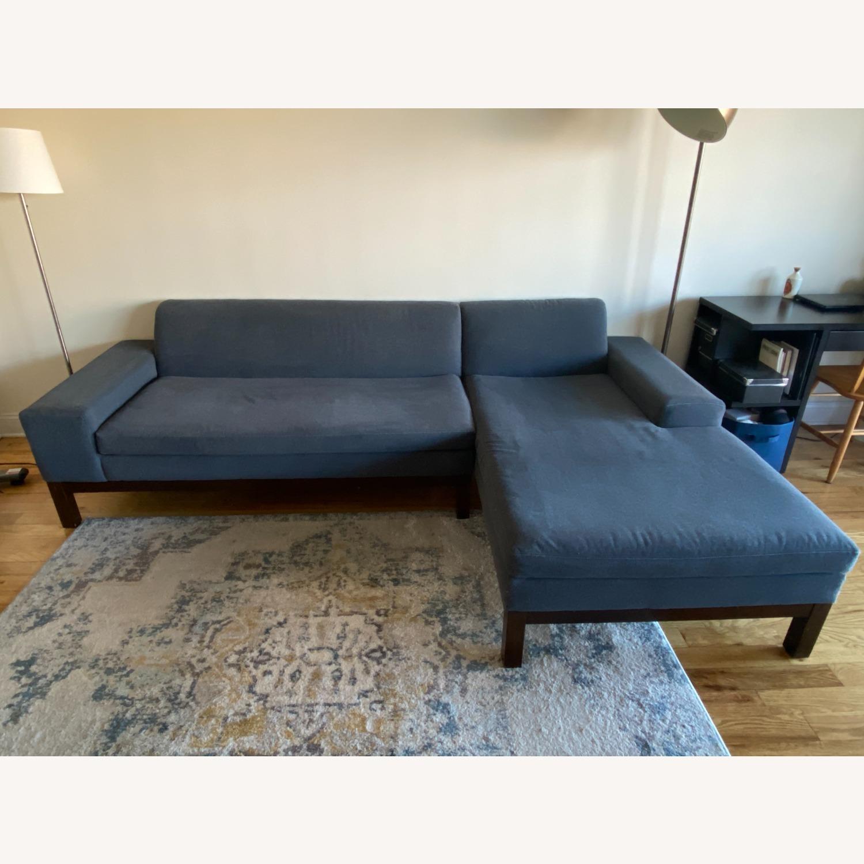 West Elm Lorimer 2-Piece Sectional Sofa - image-3