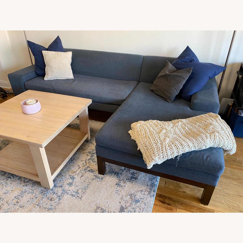 West Elm Lorimer 2-Piece Sectional Sofa - image-1