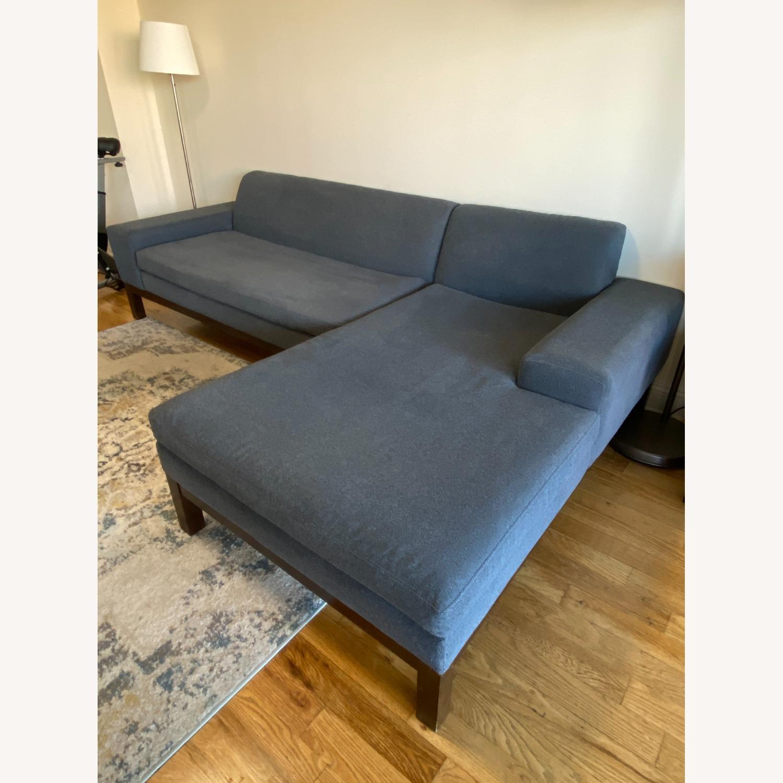 West Elm Lorimer 2-Piece Sectional Sofa - image-2