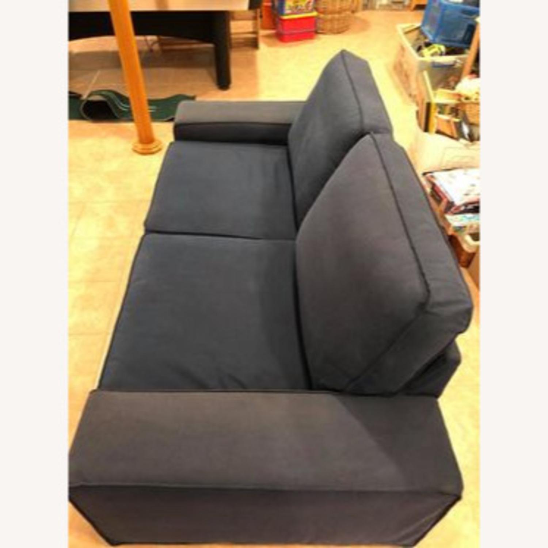 IKEA Loveseat Sofa Blue - image-7