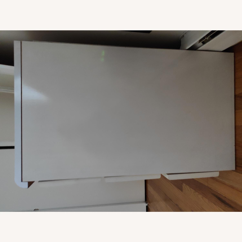 Antique Wooden White Dresser - image-2