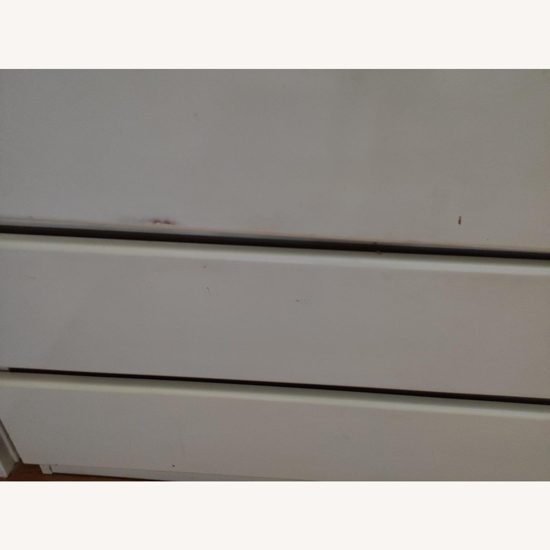 Antique Wooden White Dresser - image-3