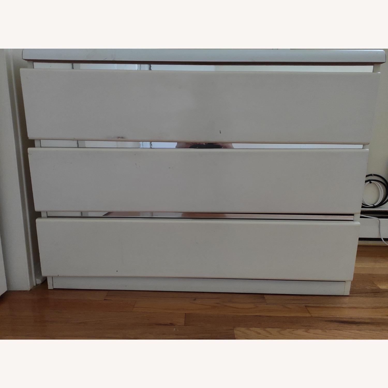 Antique Wooden White Dresser - image-1