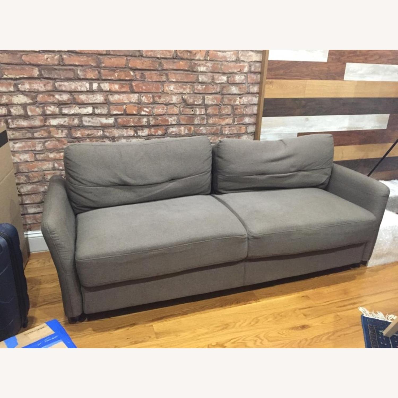 Dark Grey Sofa - image-1