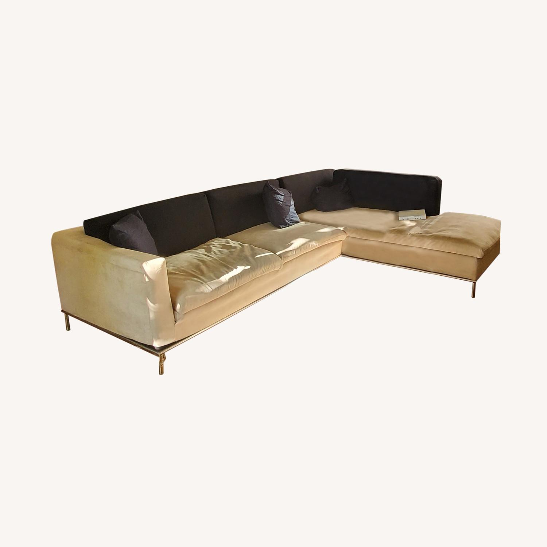 Poliform Italian Sectional Sofa - image-0