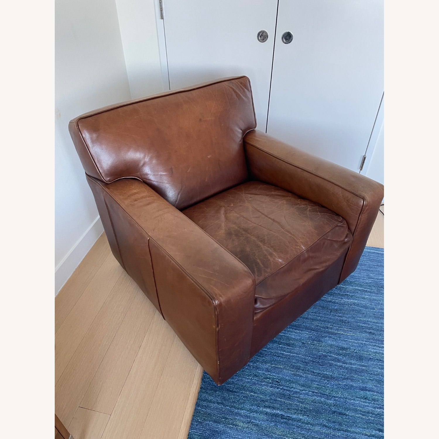 Mitchell Gold + Bob Williams Leather Chair - image-2