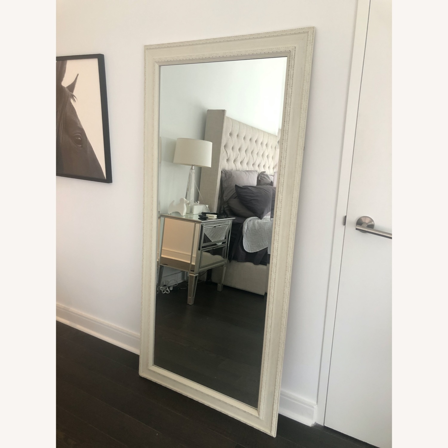 Horchow Vintage Style Full Size Mirror - image-1