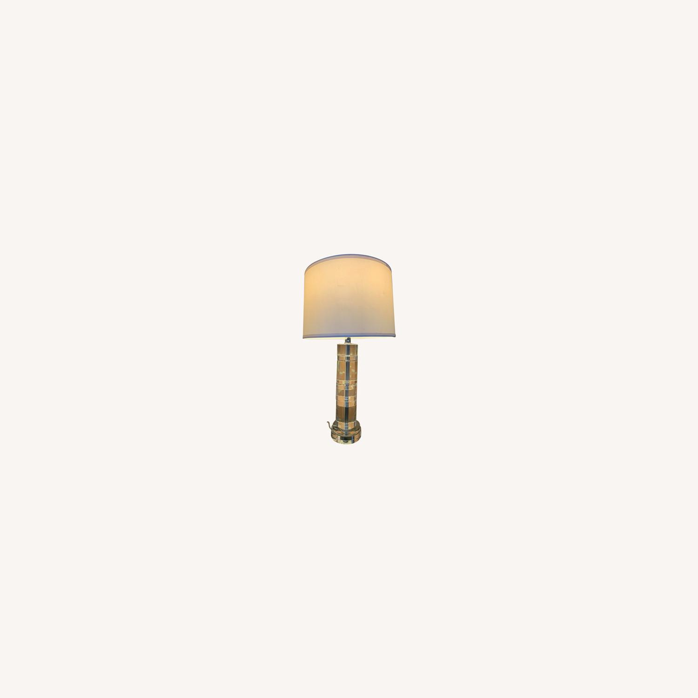 Ralph Lauren Cut Crystal Table Lamp Pair Aptdeco
