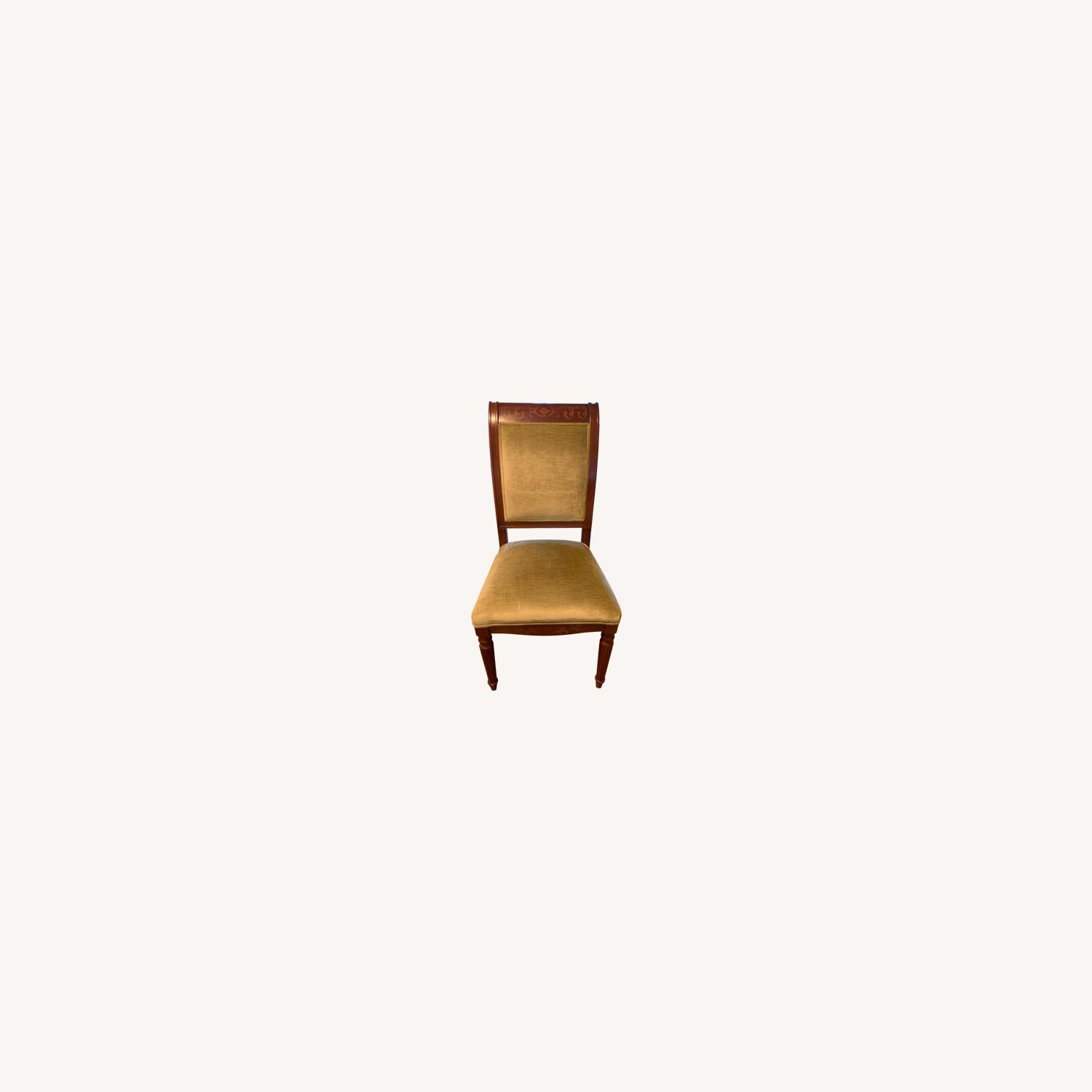 Zoffany Covered Dining Room Chairs - image-0