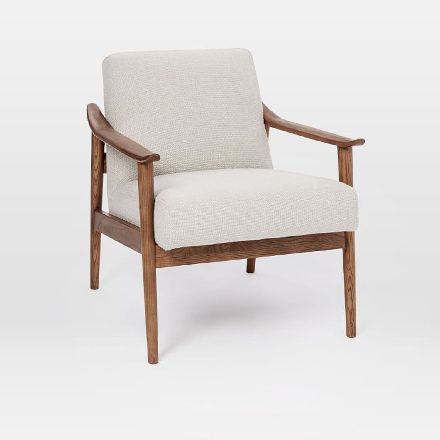 West Elm Mid-Century Upholstered Chair - image-0