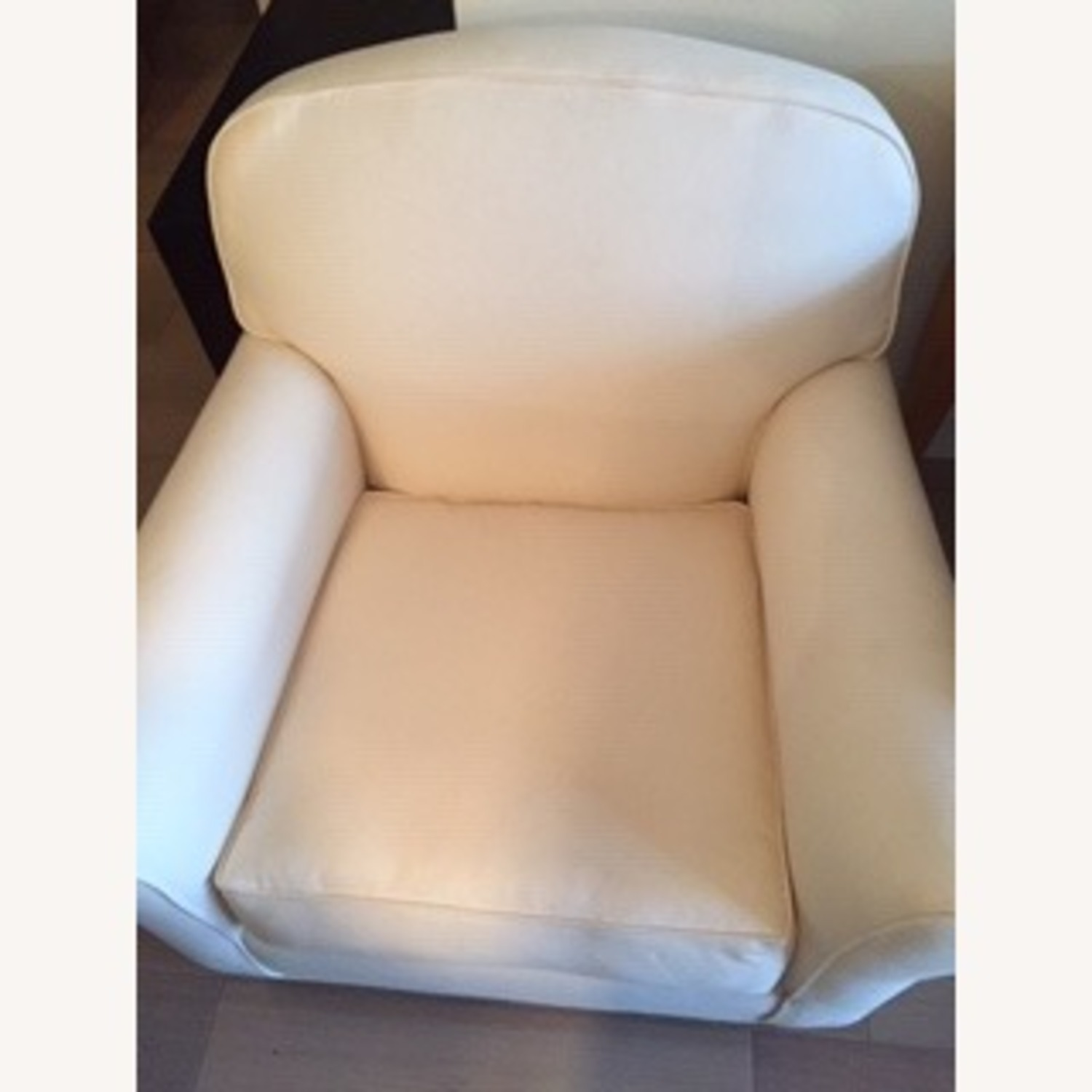 Grace Collection Roll Arm Club Chair - image-1