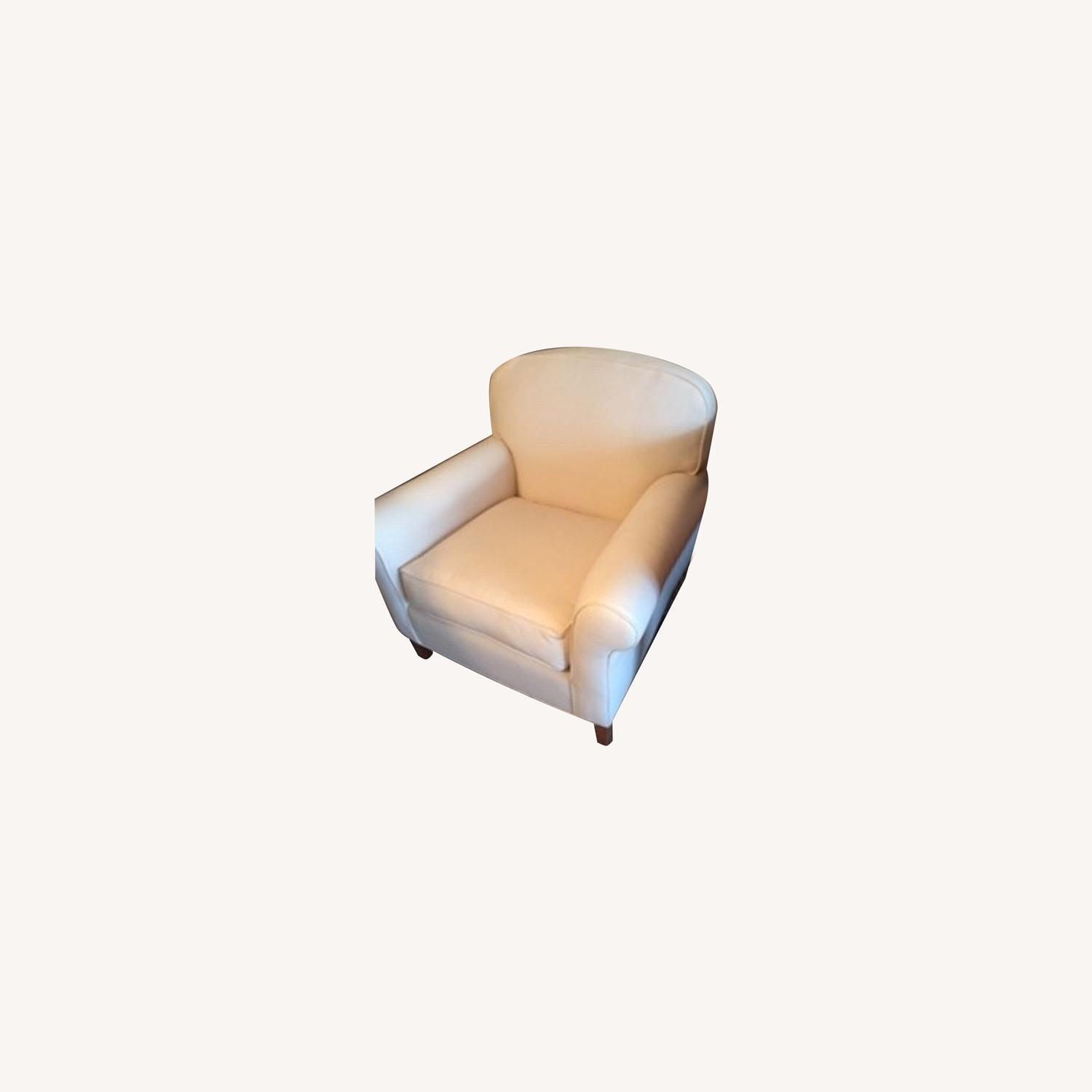 Grace Collection Roll Arm Club Chair - image-0