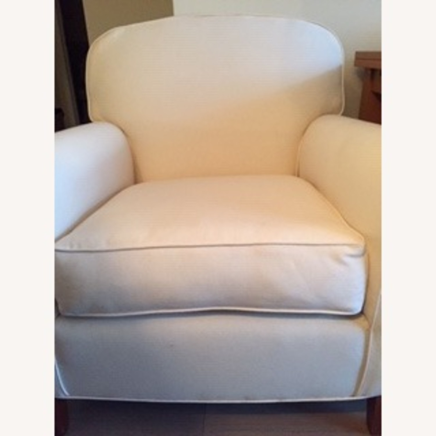 Grace Collection Roll Arm Club Chair - image-2