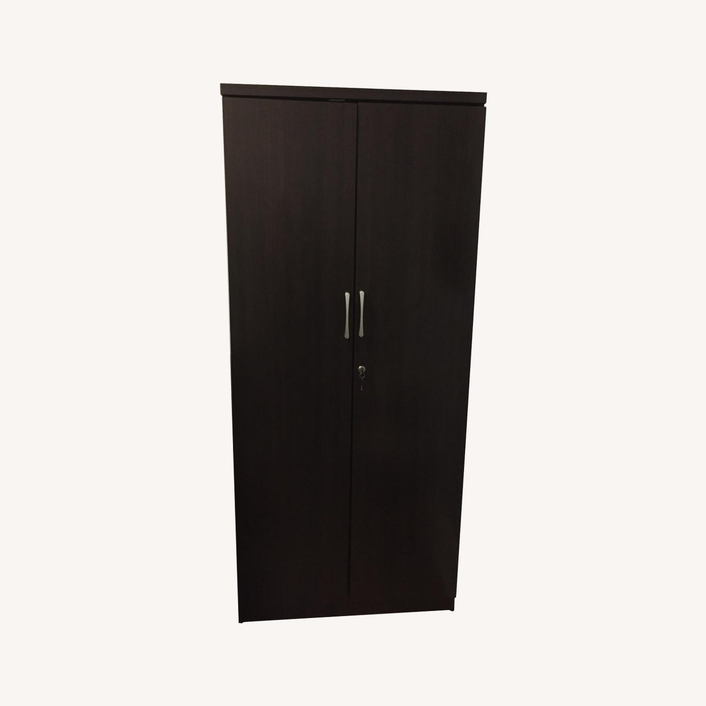 Dark Brown Minimal Closet - image-0