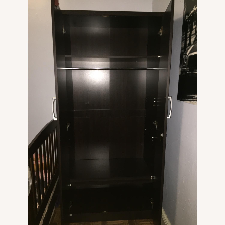 Dark Brown Minimal Closet - image-12