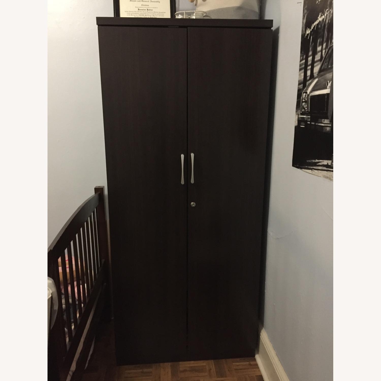 Dark Brown Minimal Closet - image-13