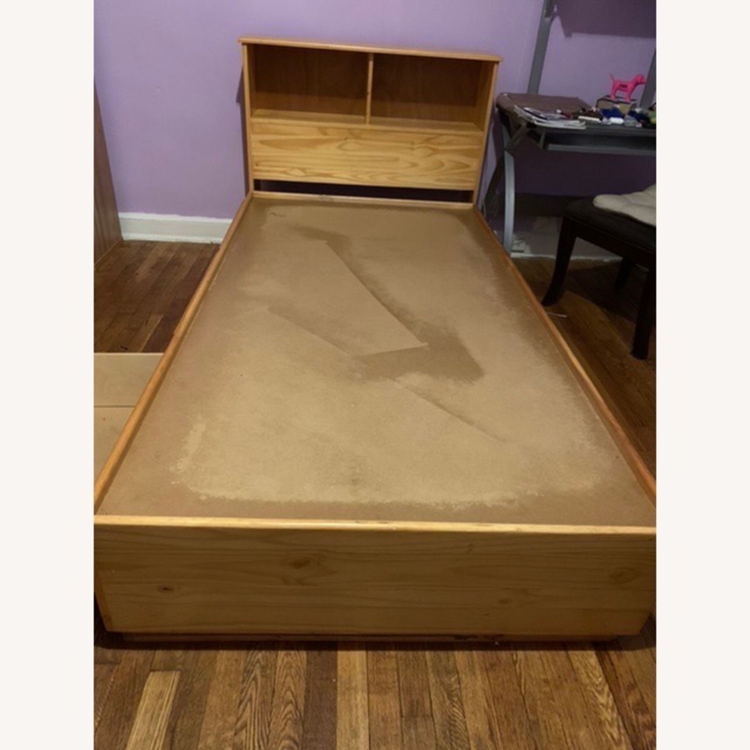 Gothic Cabinet Craft Twin Captain Bed 3 Drawers w Headboard - image-1
