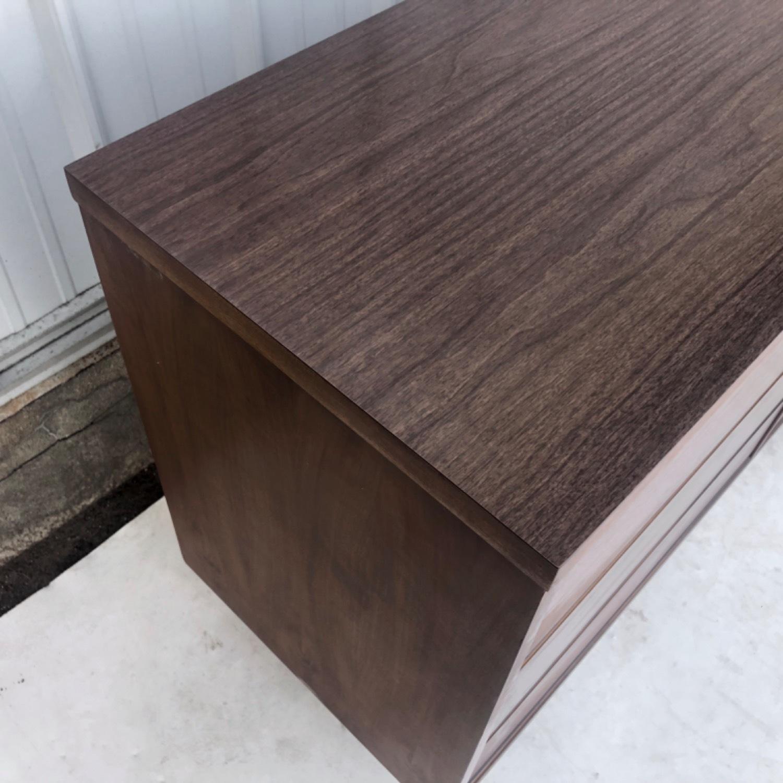 Mid Century Modern Six Drawer Dresser - image-6