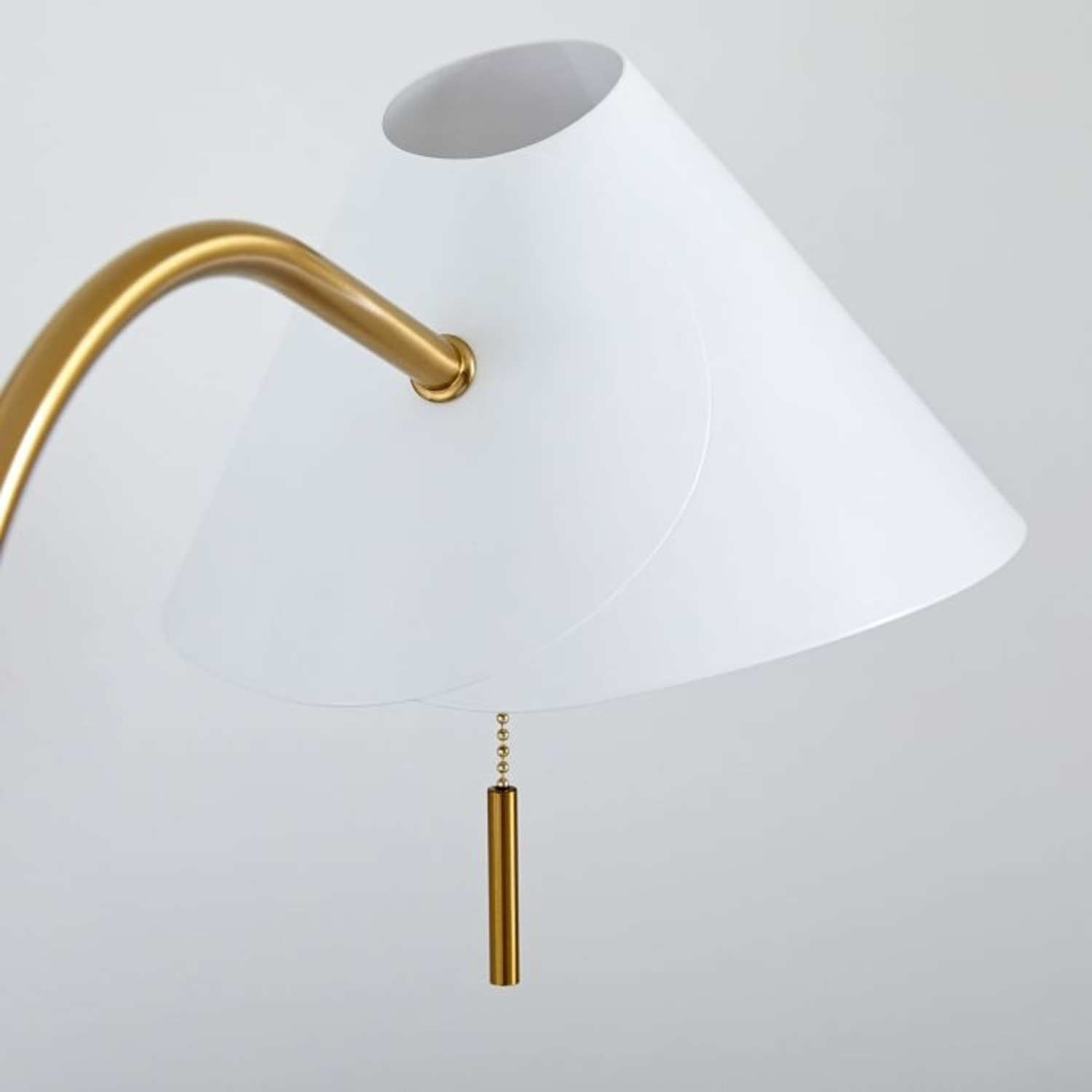 West Elm Mid Century Task Table Lamp + USB - image-2
