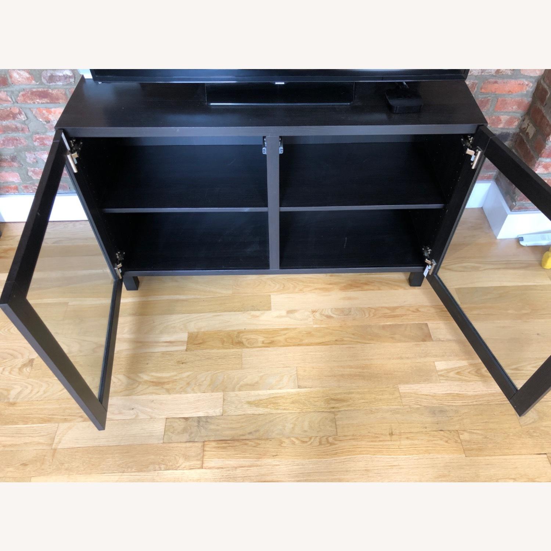 IKEA SINDVIK Dark Brown Media Console - image-2