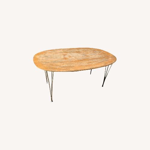 Used Fritz Hansen Super-Elliptical Table for sale on AptDeco