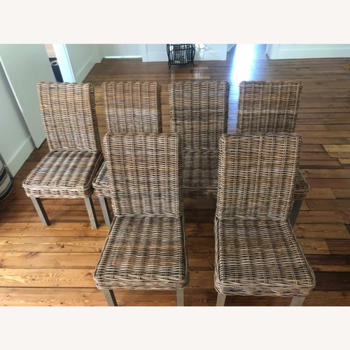 Used Lillian August Neutral Dining Chairs for sale on AptDeco