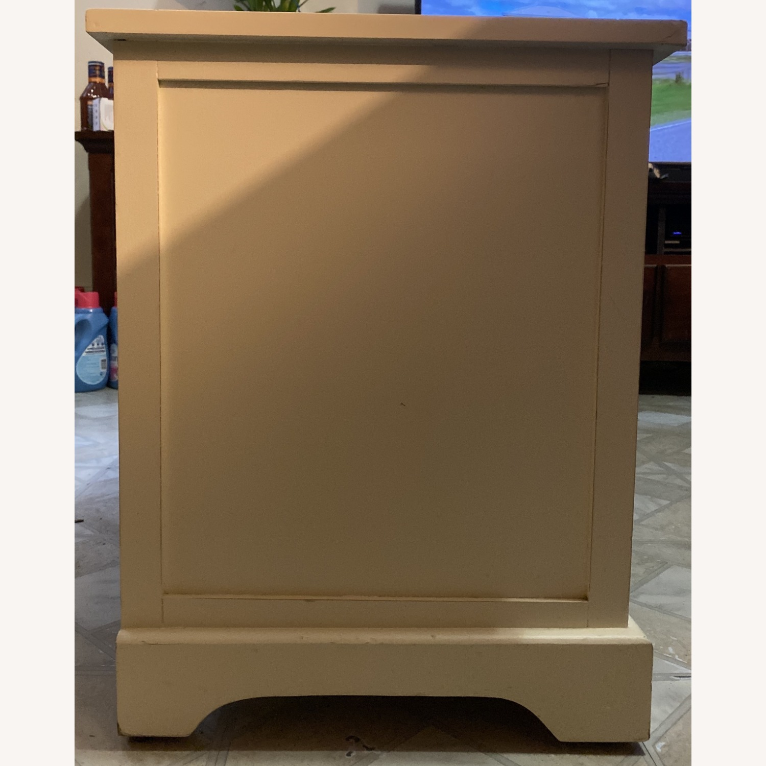 White Credenza with Baskets - image-3