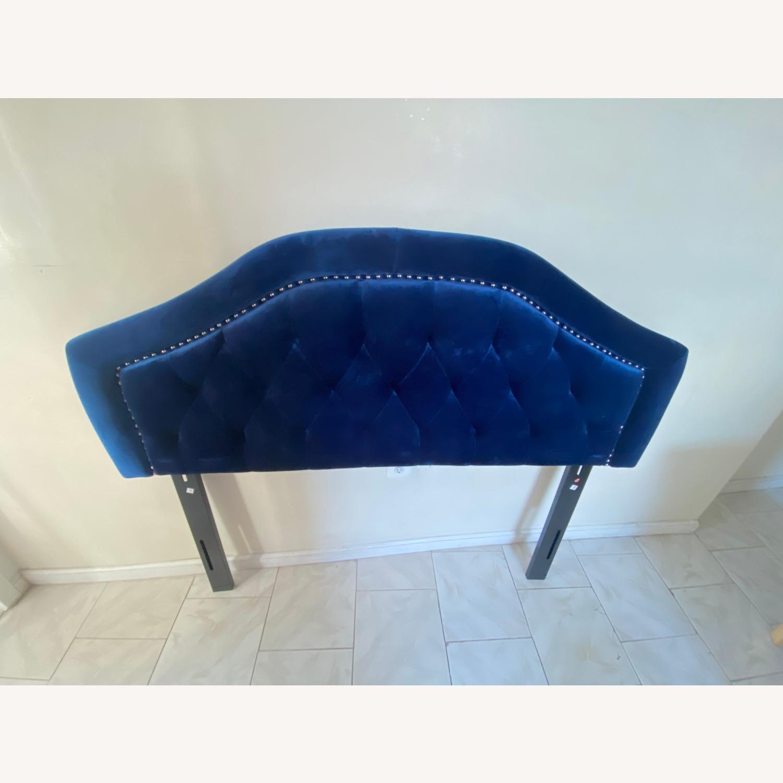 Wayfair Stylish Blue Headboard - image-2