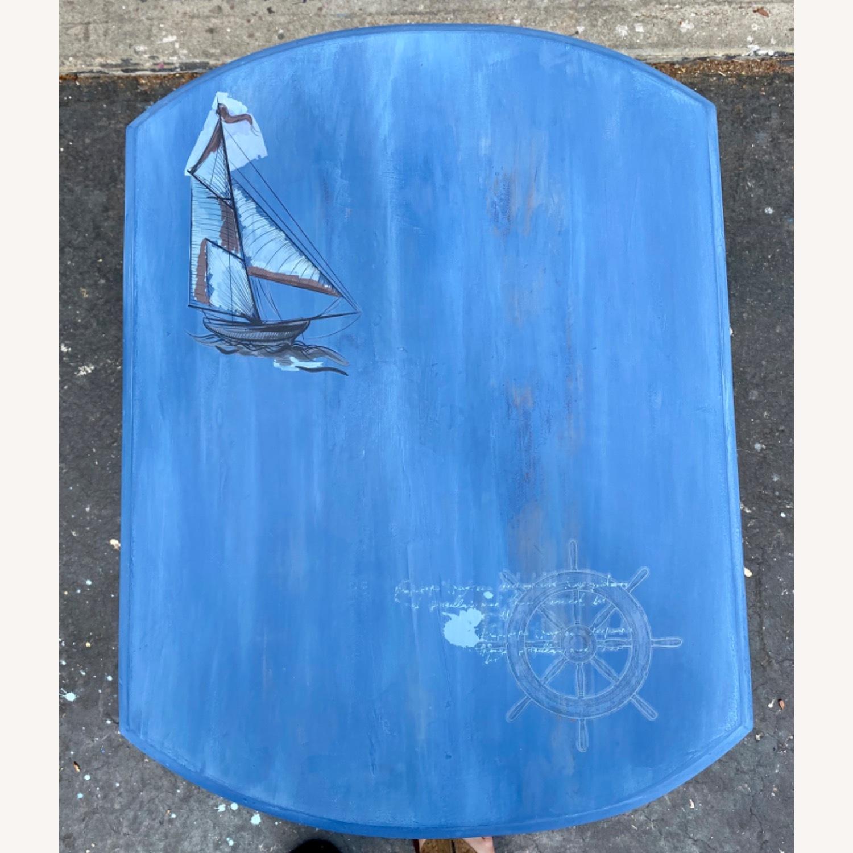 Nautical Theme Side Table - image-8